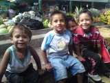 Boys at the market in Leon