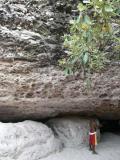 Cave with coloured sand, Chapada Diamantina