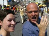 Alon and I, carnaval Olinda