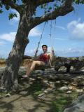 Swinging on the fort