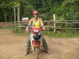 Motorbike trip around Puerto Maldonado