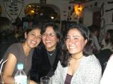 Lourdes and two other friends of Jolanda´s