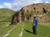 Sondor, ruins from Chanka people, the Inca´s rivals
