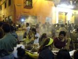 Food stalls during Semana Santa, Lima, Peru