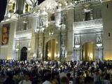 Plaza de Armas during Semana Santa