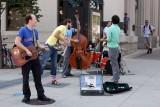 Street musicians, Madison
