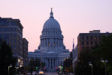 Capitol building from the Monona Terrace