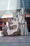 Monument with Standing Beast, Jean Dubuffet, Thomson Mall, Chicago Public Art