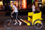 Cycle rickshaw in Chicago