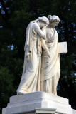Figures of Grief and History on the Peace Monument, Washington D.C.
