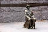 Franklin D. Roosevelt Memorial - FDR had polio, Washington D.C.