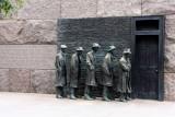 Roosevelt Memorial - the bread line, Washington D.C.