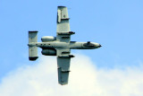 Chicago Air and Water Show 2009 - A-10 Thunderbolt II Demo - from below