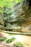 How high is the canyon?, Starved Rock State Park, IL