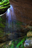 Waterfall in Tonty Canyon, Starved Rock State Park, IL
