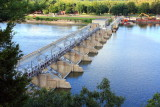 The Illinois River Dam and Lock, Starved Rock State Park, IL