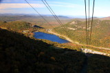 Echo Lake from Cannon Aerial Tramway, NH