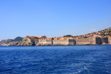 Grad, Dubrovnik from the Adriatic