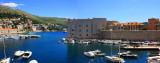 Panorama, Dubrovnik City Harbor, St. John Fortress built by Paskoje Miličević
