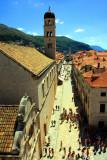 Stradun Street and Dubrovnik Old Town