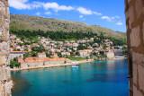Banje beach and East West club, Dubrovnik