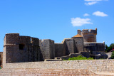 Walls of Dubrovnik Old Town with Minceta Tower