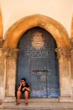 Door, Rector Palace, Dubrovnik
