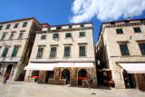 Buildings on Stradun, Dubrovnik