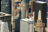 Wrigley building and Tribune building, Chicago