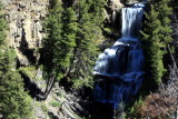 Undine Falls (60 feet), Mammoth to Tower - Yellowstone National Park