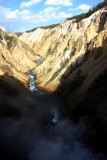 Yellowstone in the Canyon - the reason for the naming of the park