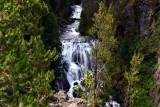 Kepler Cascades - Yellowstone National Park