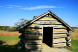 Valley Forge - cabin in the park