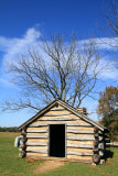 Valley Forge - recreated cabin