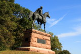 Valley Forge - statue in the park
