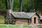 Valley Forge - cabin recreation