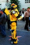 A Transformer on Hollywood Blvd., Los Angeles