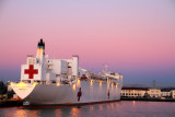 Mercy, US Naval Hospital Ship, San Diego Naval base
