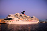 Carnival Splendor being repaired in San Diego