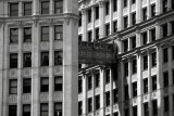 Wrigley Building, Chicago, Black and White
