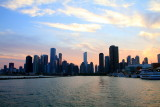 Chicago from the sunset cruise on Lake Michigan