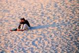 Solitary couple, Carmel by the Sea, California