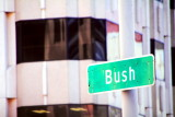 Bush street, for a day it was renamed Obama, San Francisco