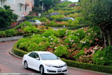 Crookedest street in the world, Lombard Street, San Francisco