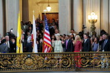 Swearing in ceremony, City Hall, Civic Center, San Francisco
