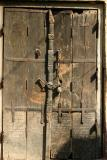 Rusty old door, Vrindavan, Uttar Pradesh