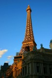 Eiffel tower at the Paris Hotel, Las Vegas, NV