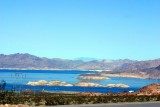 Lake Mead - 550 miles of shoreline, NV