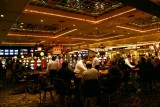 Gambling tables, Las Vegas, NV