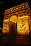 Arc de Triomphe at night, Las Vegas, NV
